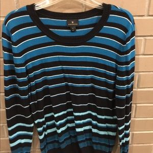 Striped light weight sweater